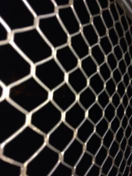 Net Honeycomb Chainlink fence Free Photo