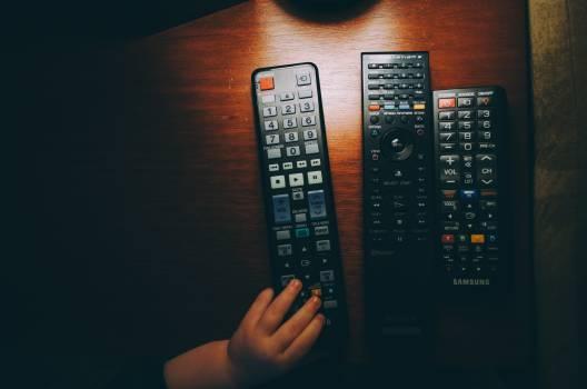 Black Remote Control Free Photo