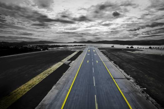 Airfield airplane asphalt car #51743