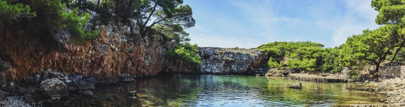 Beautiful lake landscape lokrum #51745