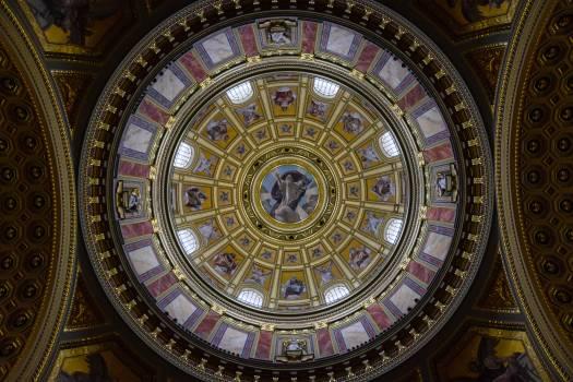 Basilica church dome hungary Free Photo