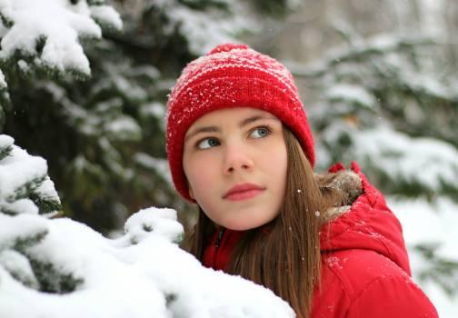Cap christmas christmas tree cold Free Photo