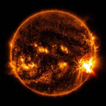 Burning cosmos energy eruption Free Photo