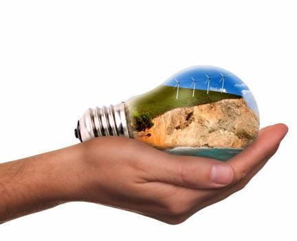 Current eco energy ecology energy Free Photo
