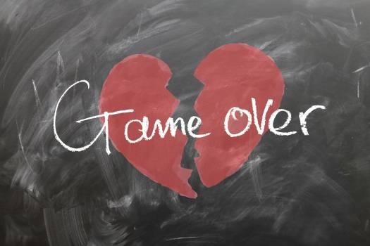 Affection board broken broken hearted #53537