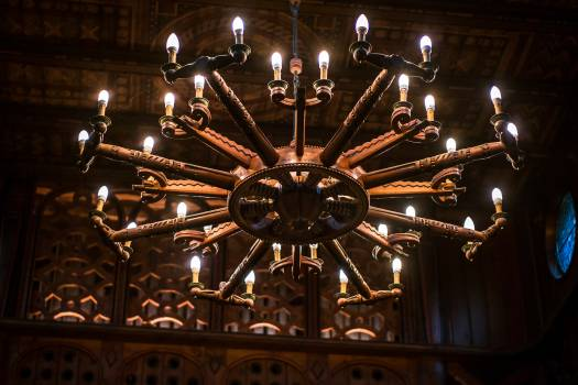 Chandelier illuminated lights #53605