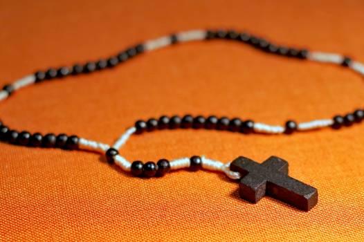 Beads catholicism cross faith Free Photo