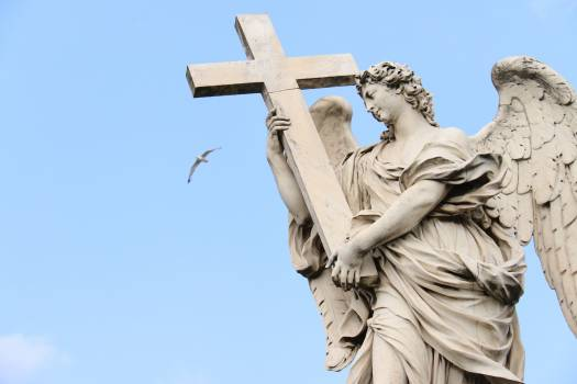 Angel architecture europe history Free Photo