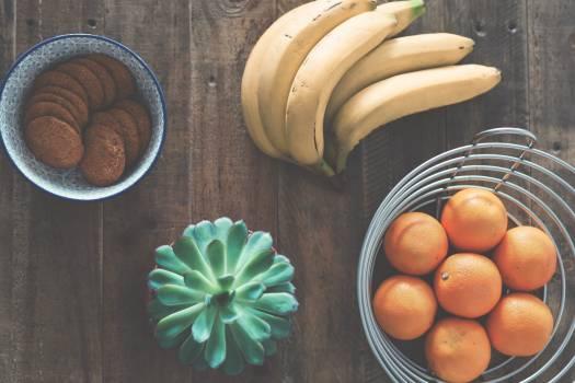 Bananas bowl breakfast citrus #53842