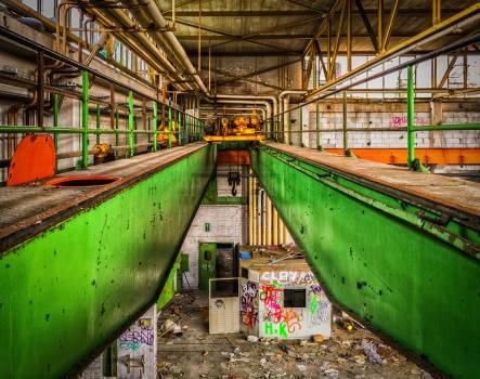Architecture break up broken construction Free Photo
