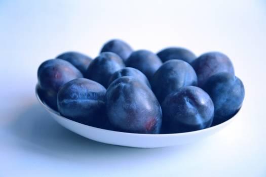 Blue bright closeup delicious Free Photo