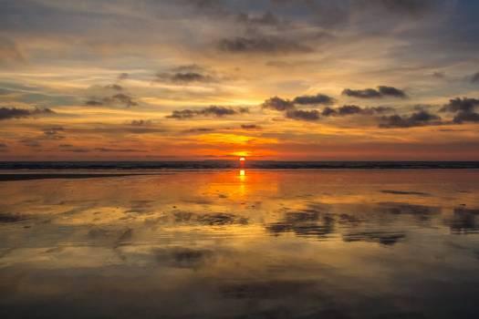 Beach cloud clouds dawn #54394