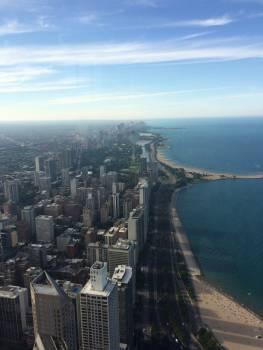 Beach chicago city city scape #54562