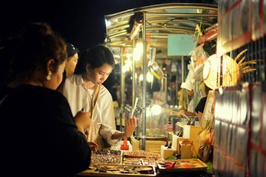 Bangkok night market thailand #54697