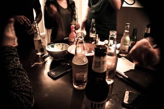 Beer bottles cerveza fiesta #54753