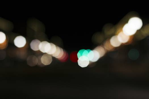 Background bokeh city lights defocused Free Photo