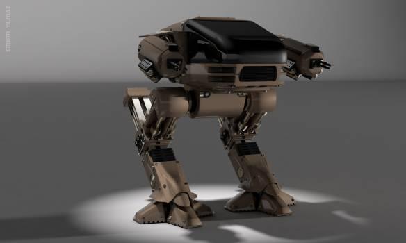 Robocop robocop ed209 robot Free Photo