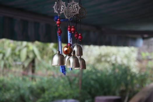 Pagoda public wind chimes #56175