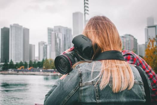 Camera city girl person #56565