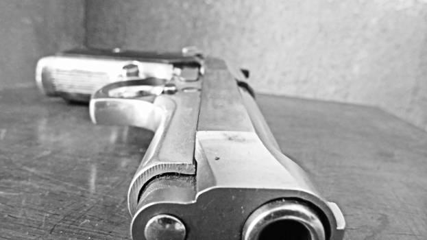 Pistol Revolver Metal #56810