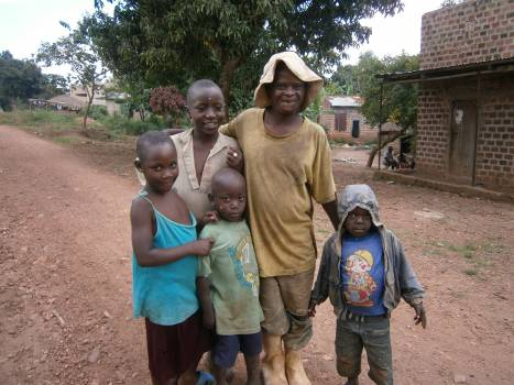 African african family children father Free Photo
