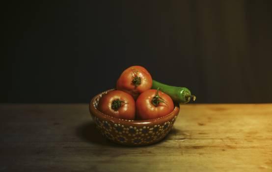Bowl food ingredients table Free Photo