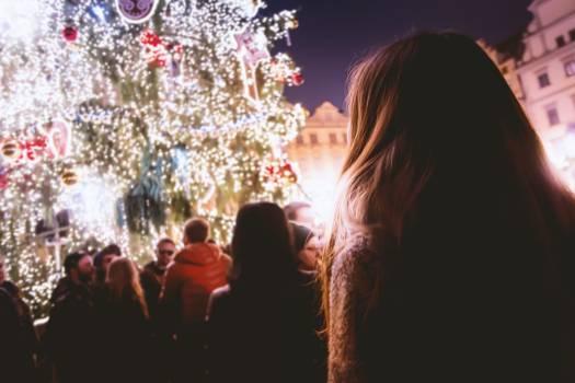 Celebration christmas festival fun Free Photo