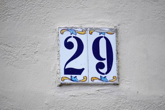 Adresse bleu carrelage faience #57571