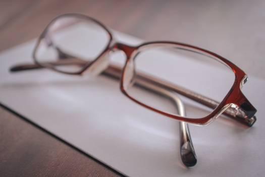 Close up eyeglasses eyewear vision #57898