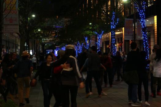 Crowd People Lights #58180