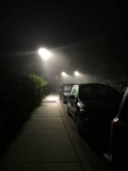 Cars contrast fog foggy Free Photo