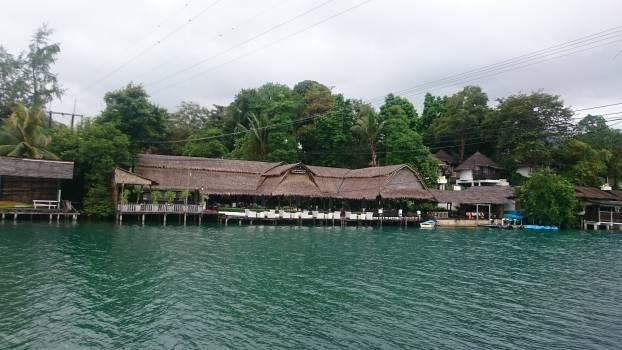 House overcast river thailand #58606