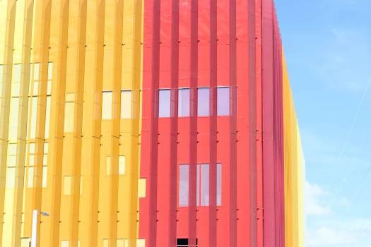 Architecture building contemporary design Free Photo
