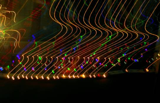 Light Trails at Night #59497