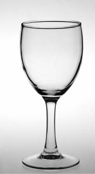 Close-up of Wine Glass Against White Background #60144