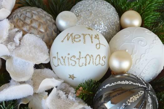 Close-up of Christmas Decoration Free Photo