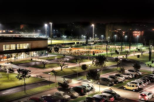 Illuminated City at Night #61058