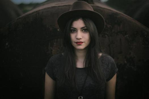 Portrait of young woman Free Photo
