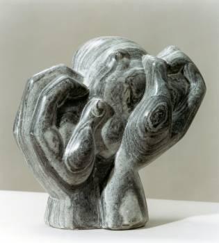 Close up of elephant statue #62725