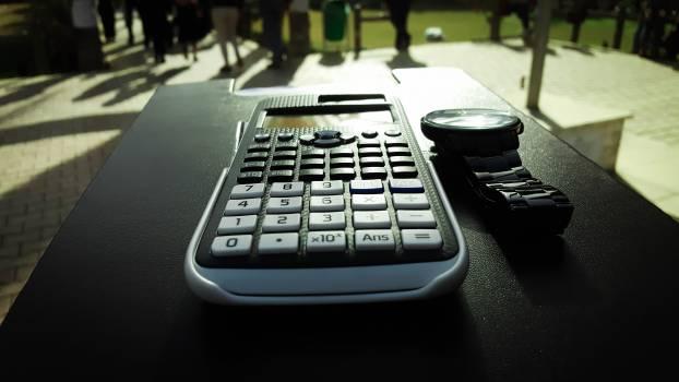 Close up of laptop keyboard Free Photo