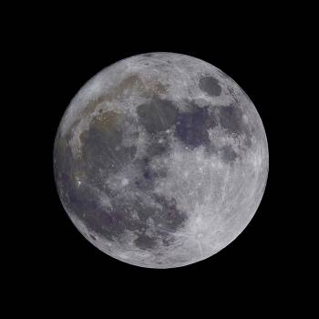 Close up of moon against black sky Free Photo
