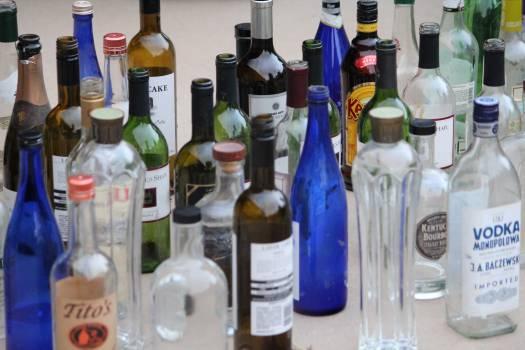 Close-up of Wine Bottles #63296