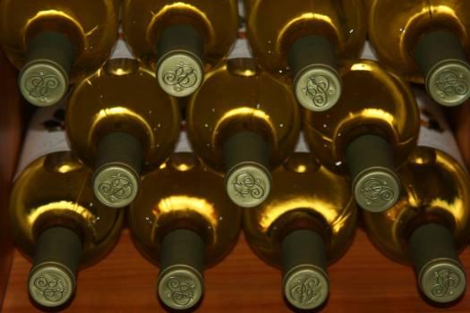 Close-up of Wine Bottles #63688