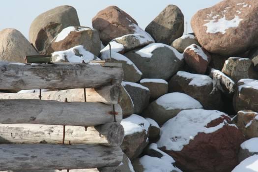 Stack of Stones on Beach #63698