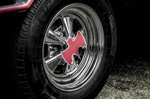 Close-up of Tire Rim #64299