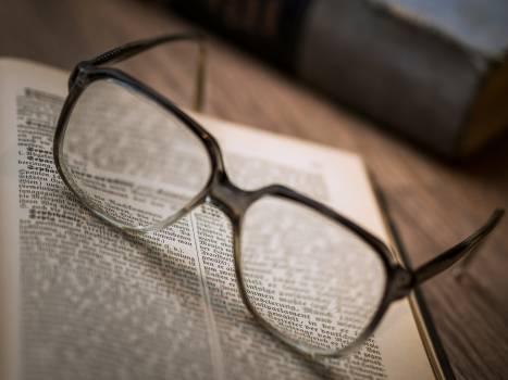 Close-up of Eyeglasses Free Photo