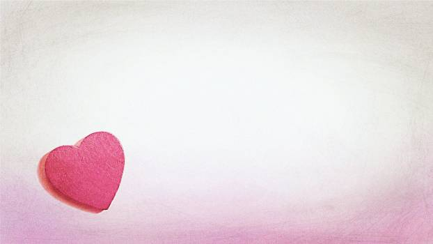 Close-up of Heart Shape over White Background #65364
