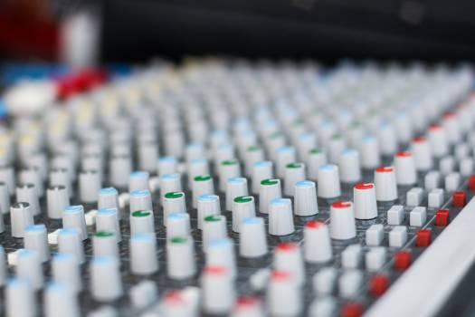 Close-up of Computer Keyboard Free Photo