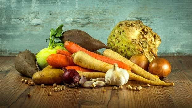 Pumpkins on Vegetables Free Photo