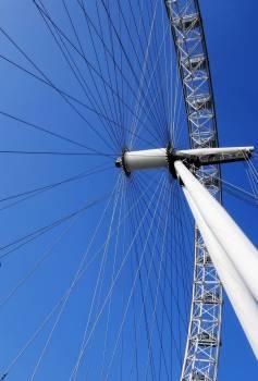 Low Angle View of Ferris Wheel Free Photo